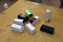 Nuestros espectroscopios caseros