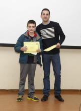 "Entrega de premios ""The Great English Quiz"""