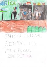 Dibujos de Alumnos del CEIP Maestro Juan de Ávila tras ver el espectáculo