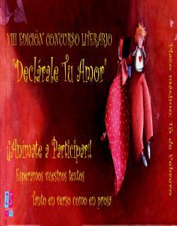 """VIII Concurso Literario """"Declárale tu Amor"""""""