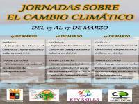 Cartel de las Jornadas sobre el Cambio Climático